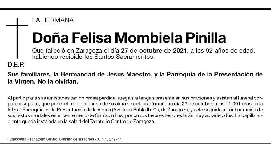 Felisa Mombiela Pinilla