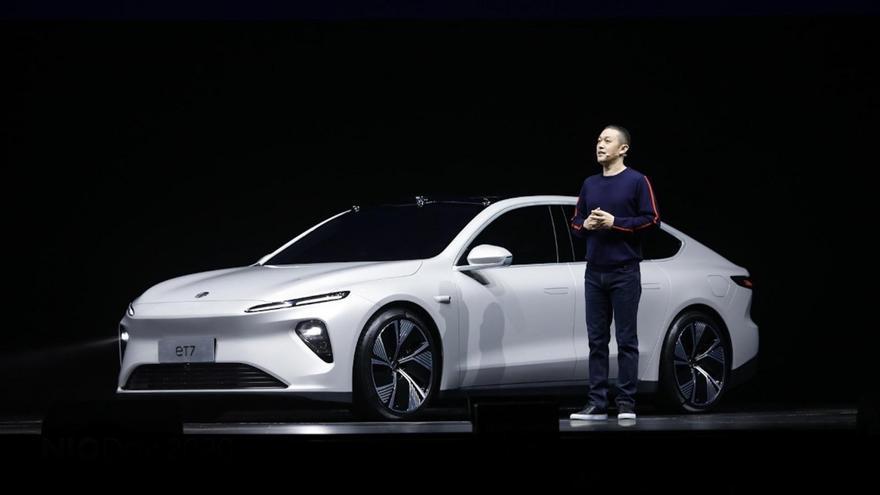 Nio presenta el ET7, la berlina con la que combatirá con Tesla