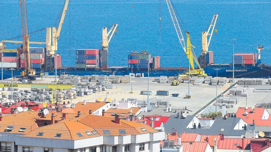 Estas son las mercancías récord del Puerto de Vigo