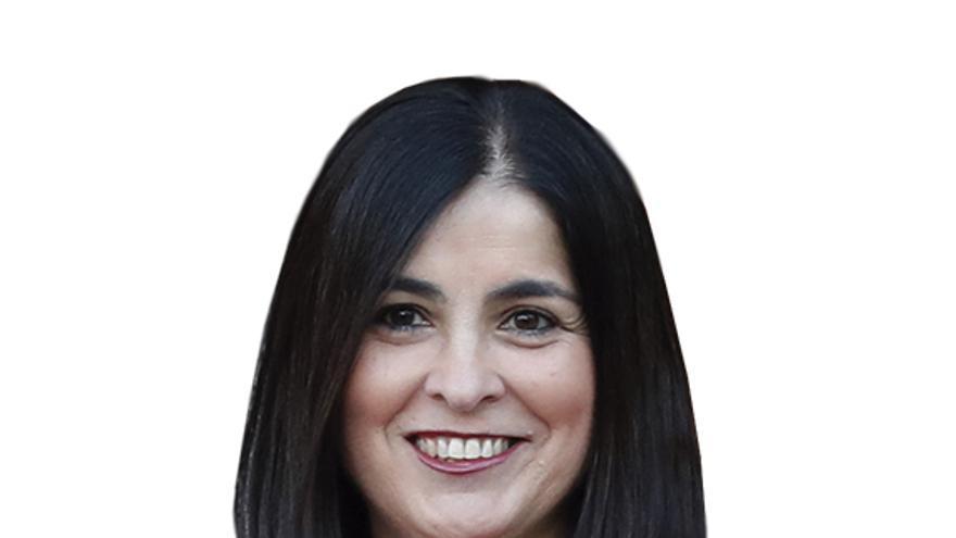 Carolina Darias abre la Fiesta del Pino 2021 con la lectura del pregón