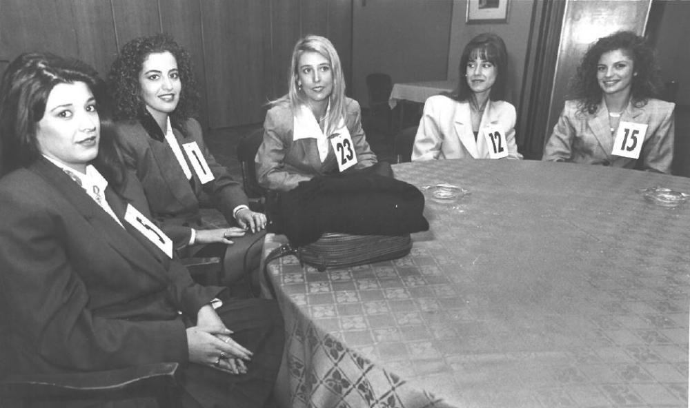 Las candidatas a corte de 1994 llegaron a la final con una novedad: eran las supervivientes de una semifinal que se celebró a finales de julio (con todas las preselecciones ya celebradas en la Feria). De tal modo que eran 26 pafra 13 puestos. Una fórmula que en la actualidad vuelve a debatirse y que veremos repetida para las candidatas de 1997. Las candidatas 1, 12 y 15 tendrían premio: Laura Segura, Nuria Cuéllar y Gema Monfort.