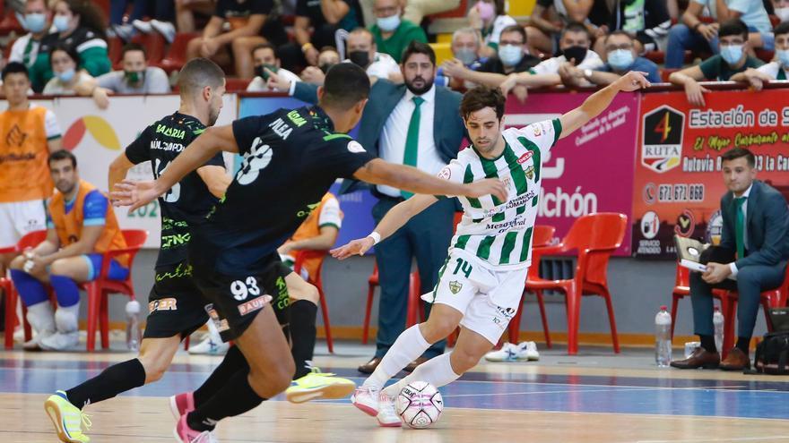 """Pablo Del Moral, con """"más ilusión que vértigo"""" en el Córdoba Futsal"""