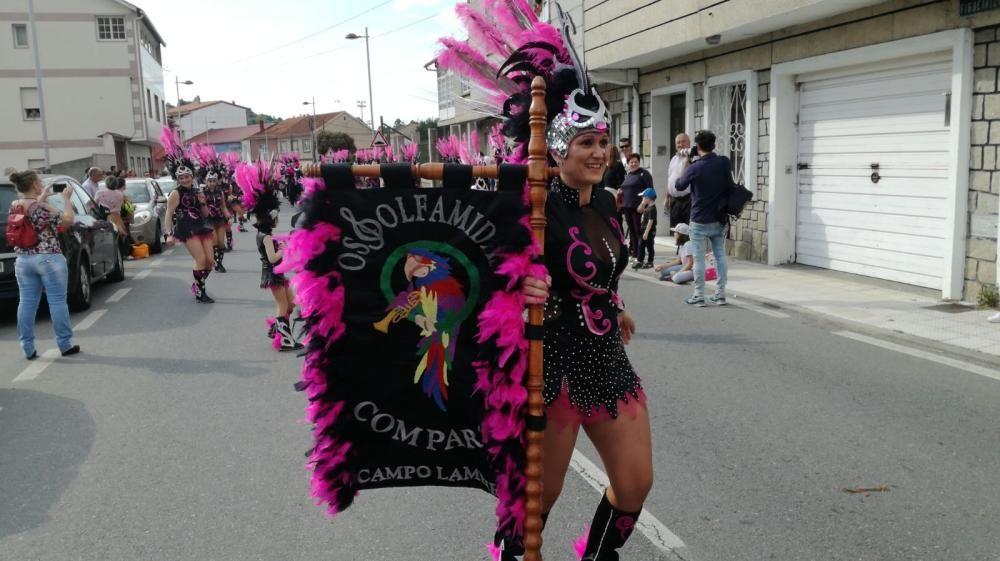 Carnaval en Galicia 2019   San Xulián de Marín despide su entroido