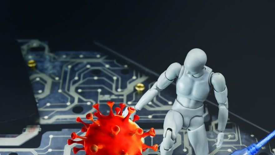 Inteligencia artificial contra el virus