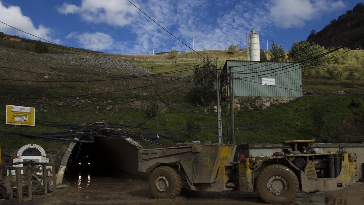 La mina de oro de Boinás.