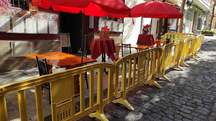 Prorrogadas las autorizaciones express de terrazas de bar en el Puerto de la Cruz