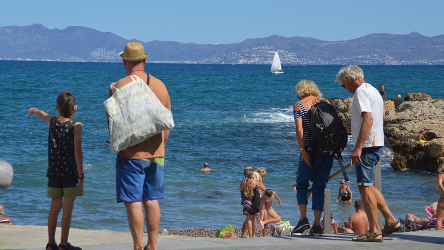 L'Escala ha rebut un 22% més de visitants aquesta temporada turística d'estiu respecte el de 2020