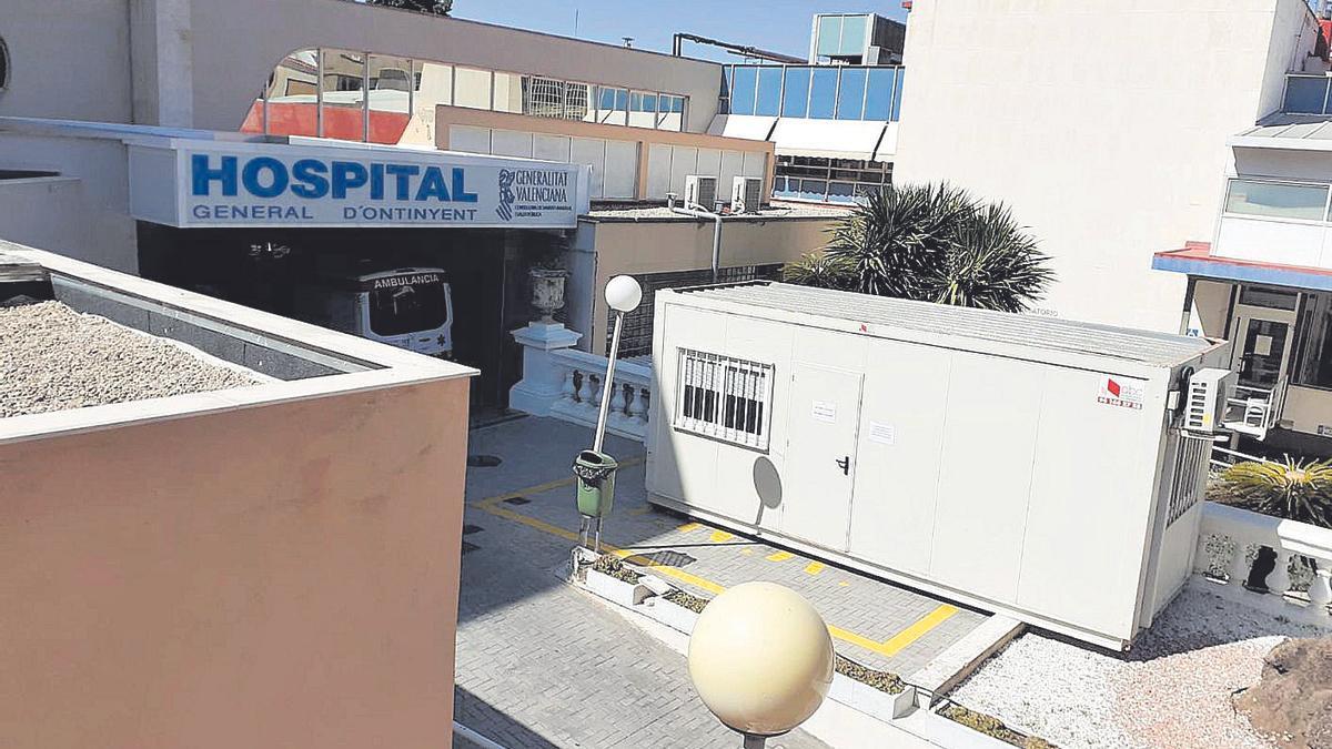 Hospital de Ontinyent   Módulos prefabricados para los acompañantes