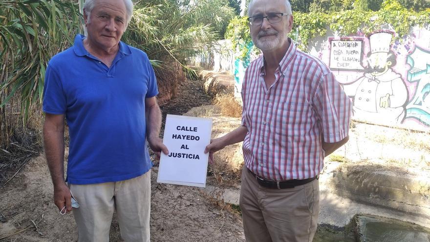 Los vecinos llevan ante el Justicia la polémica de la calle Hayedo de Zaragoza