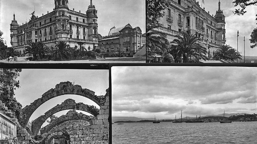 La Fototeca Nacional divulga imágenes históricas e inéditas de la comarca y la ría