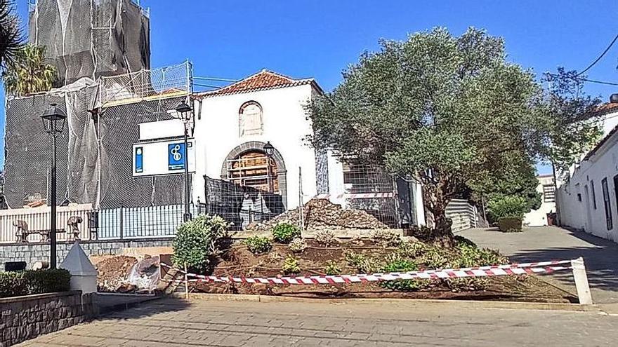 Los jardines se adaptarán para proteger la iglesia de Santa Catalina