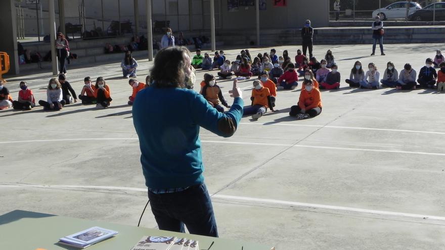 El colegio Cas Capiscol celebra Sant Jordi