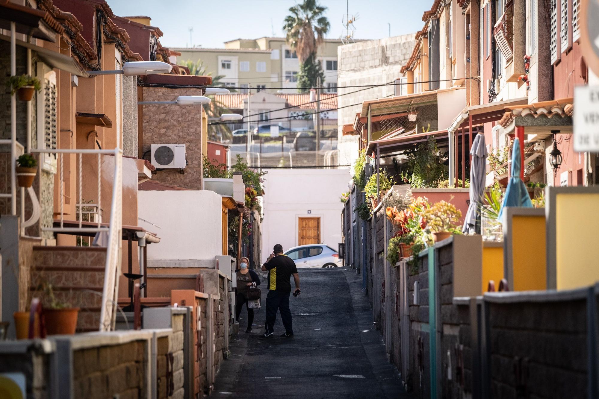 Visita por el barrio de Somosierra