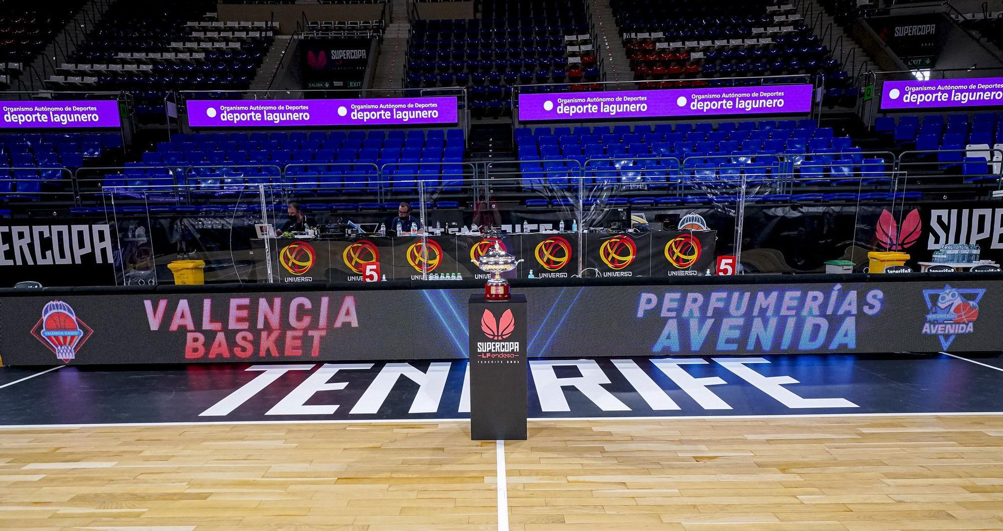 Final Supercopa LF Endesa Valencia Basket - Perfumerías Avenida