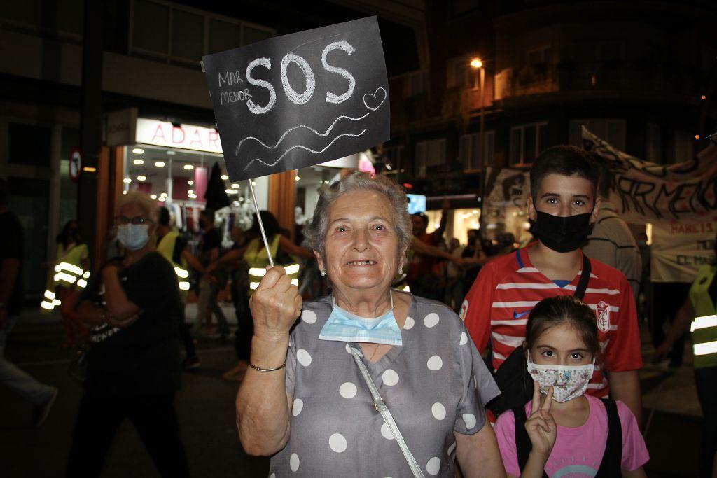 Manifestación por el Mar Menor en Murcia