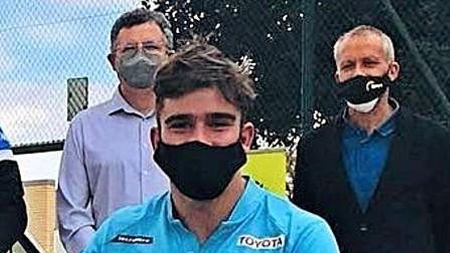 Martín de la Puente, el gran vencedor del Open de Tenis en silla de ruedas