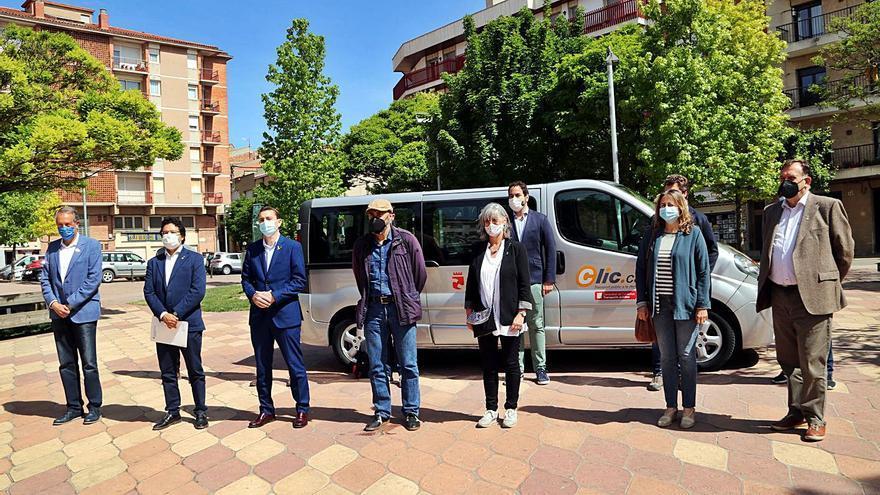 L'Alta Segarra implanta una prova pilot de servei de transport a demanda