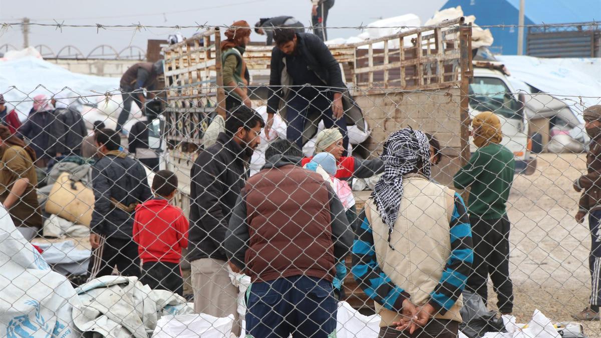 Campamento de Al Hol, en Siria.