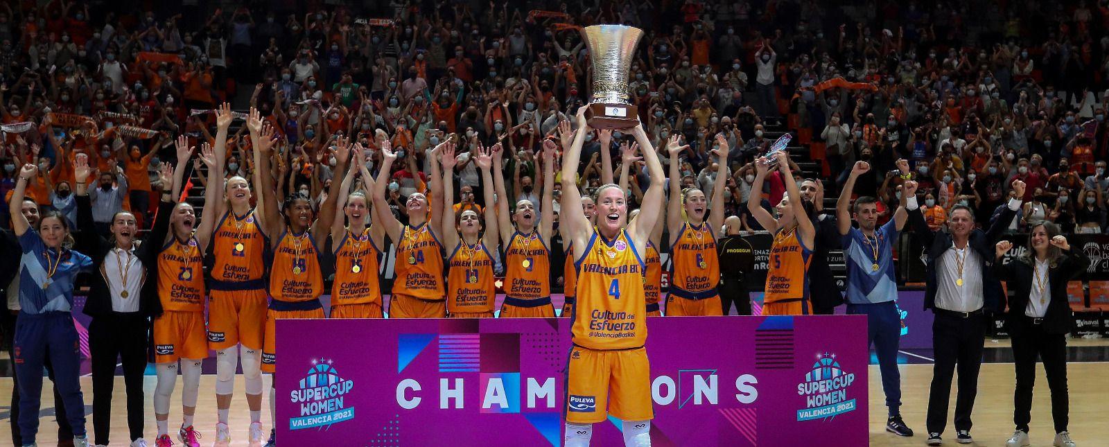 El Valencia Basket conquista la Supercopa de Europa (75-68)