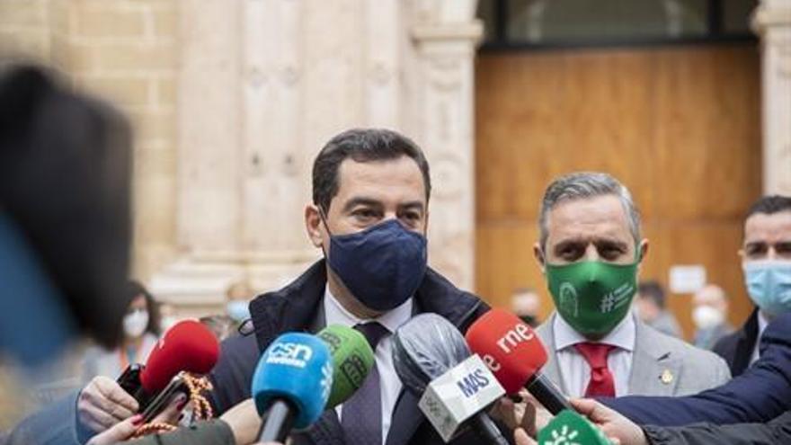 """Moreno anuncia que el lunes se revisará la situación de Andalucía para decidir si """"reforzar las medidas"""""""