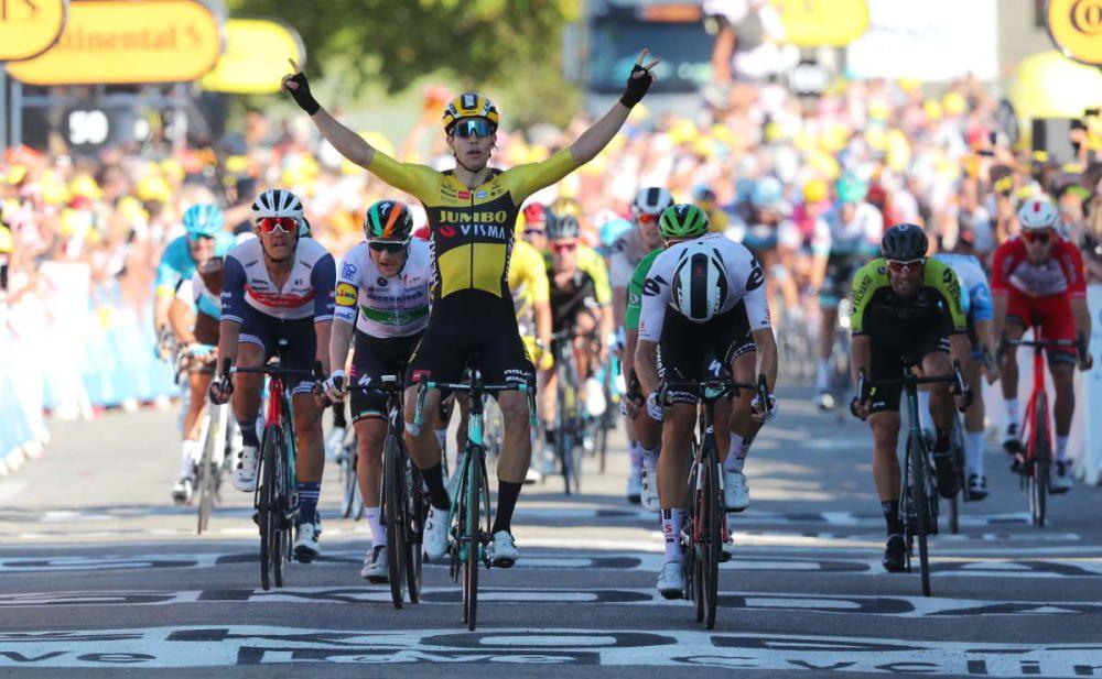 Quinta etapa del Tour de Francia (Gap - Privas)
