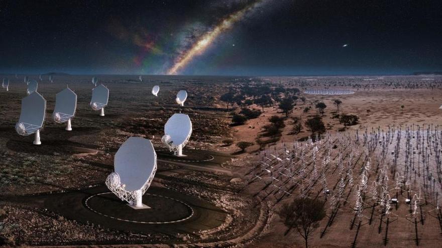 Pistoletazo de salida para SKAO, el mayor radiotelescopio del mundo