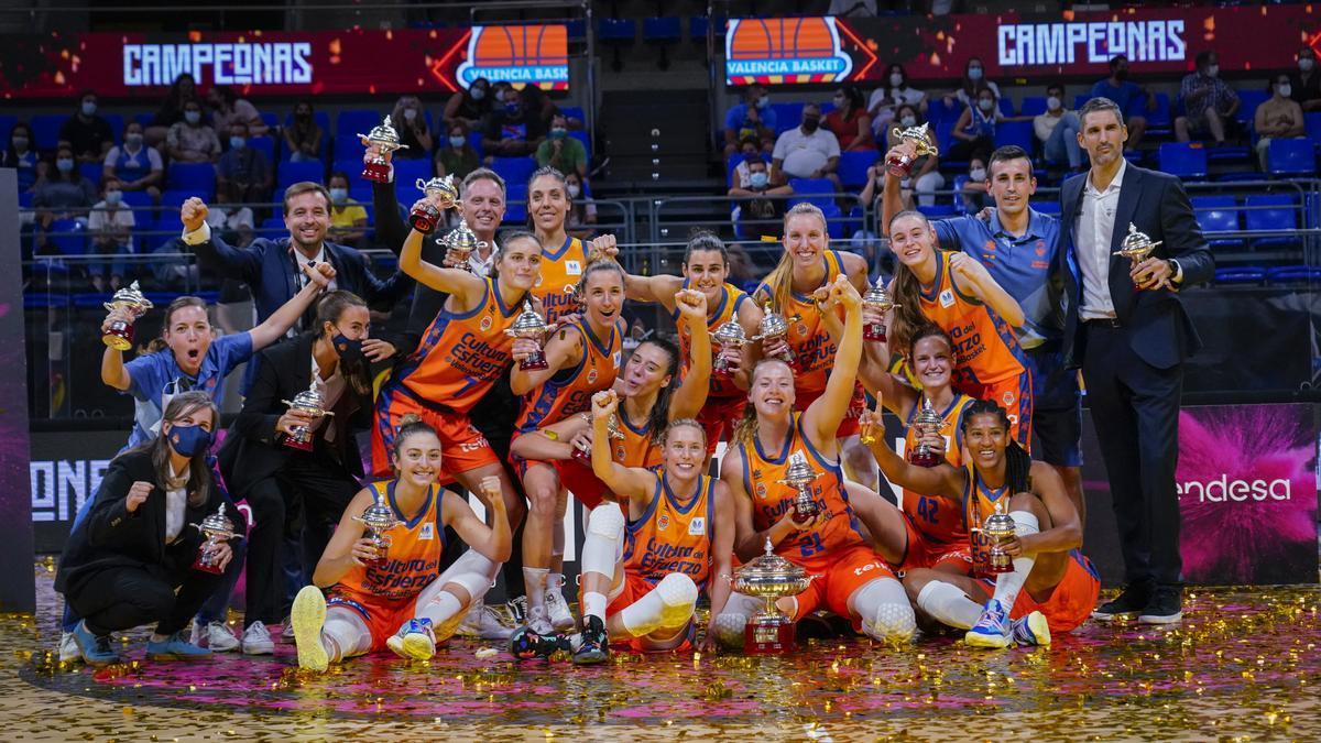 Valencia Basket, campeón de la Supercopa LF Endesa