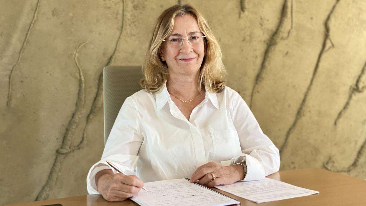 Maria Mascaró, fotografiada en su despacho.