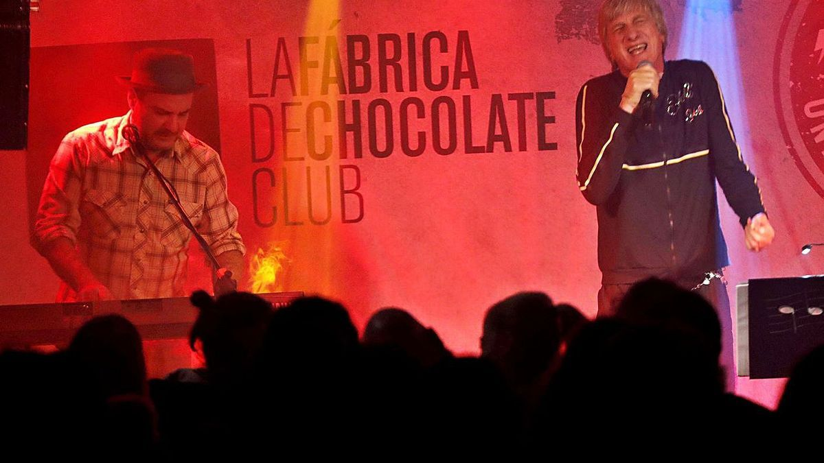Tony Lomba y Elio dos Santos, en un concierto anterior de Navidad. |   // FDV