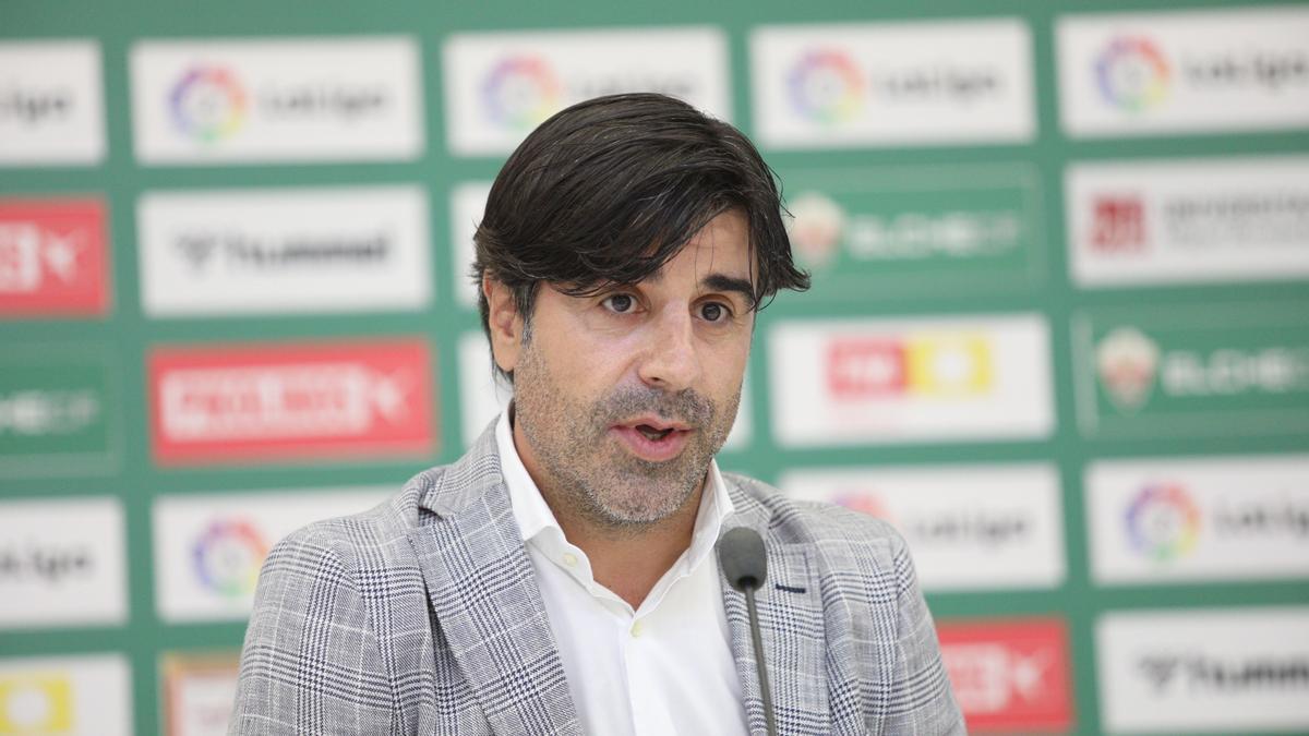Nico Rodríguez, director deportivo.
