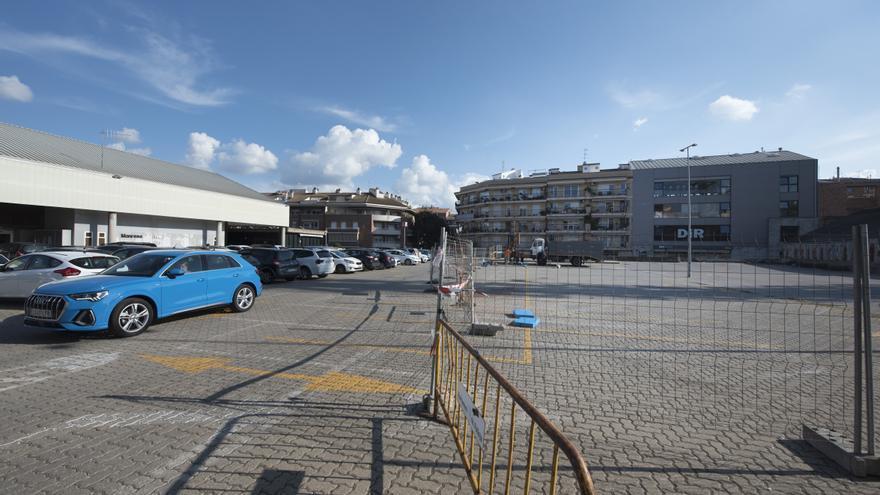 Fan un estudi del subsol previ a construir cent pisos al costat de l'estació d'autobusos de Manresa