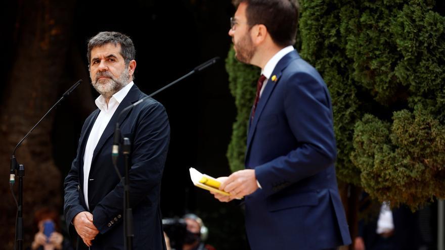 """Aragonès reconoce que han necesitado """"demasiado tiempo"""" para llegar a un acuerdo"""