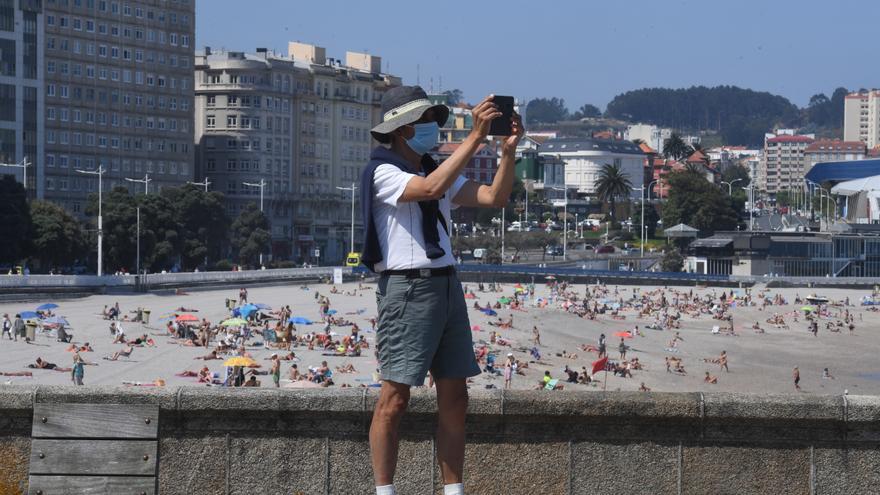 El aire cálido entrará mañana en Galicia