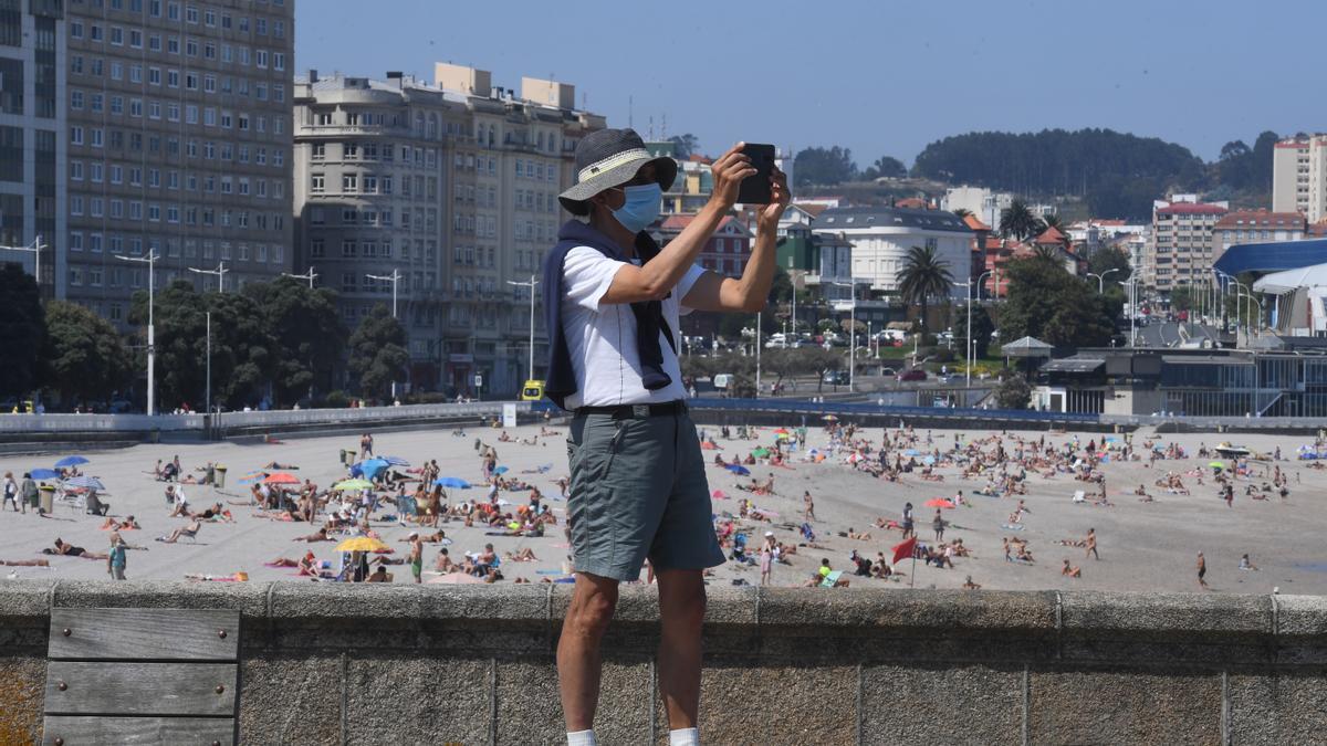 Buen tiempo en A Coruña
