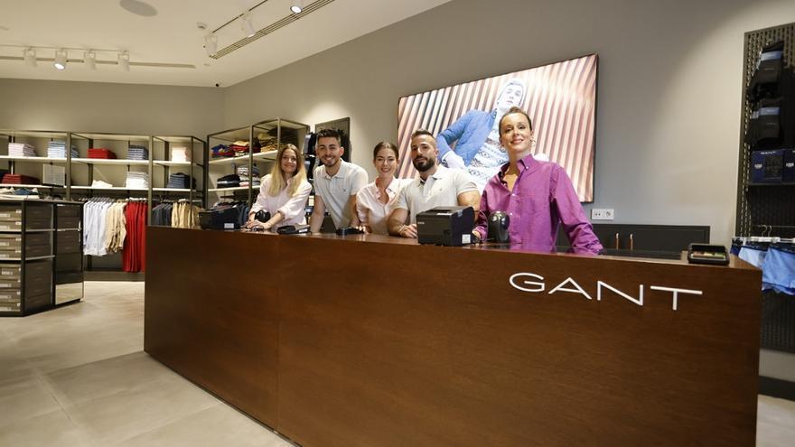 Gant abre una tienda en el centro comercial de McArthurGlen Designer Outlet Málaga