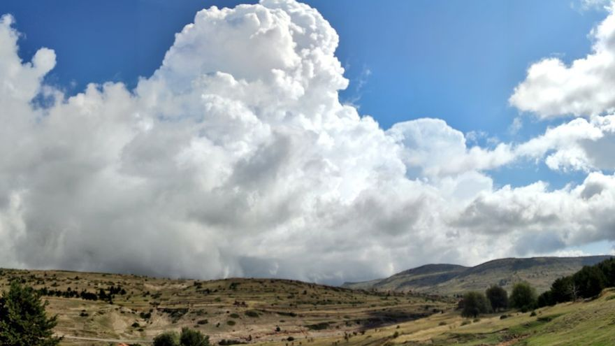 Alerta por chubascos y tormentas en el norte de Huesca y la Ibérica