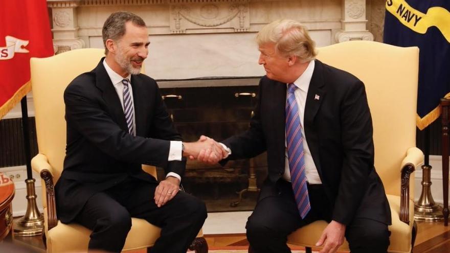 Els reis d'Espanya visitaran Trump a la Casa Blanca el 21 d'abril en una visita d'Estat