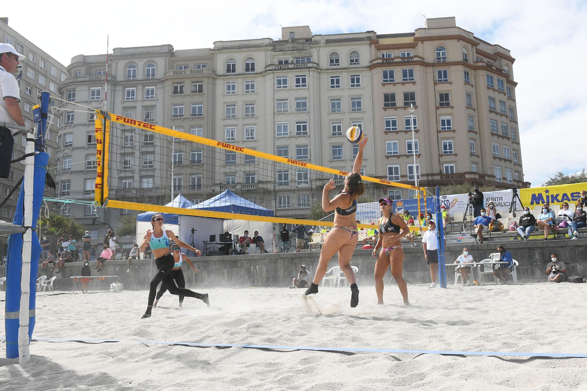 Campeonato de España de voleibol playa en Riazor