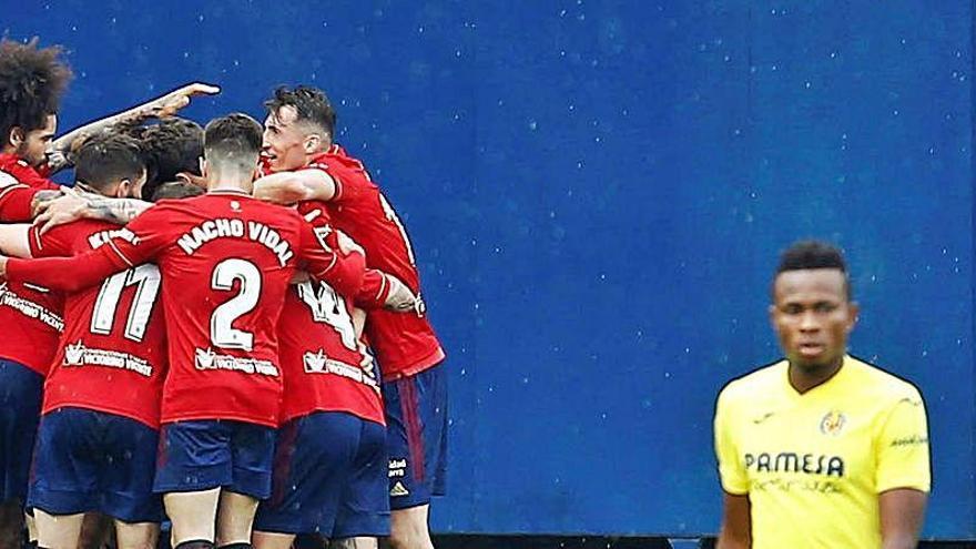 Las rotaciones y la Europa League pasan factura ante el CA Osasuna