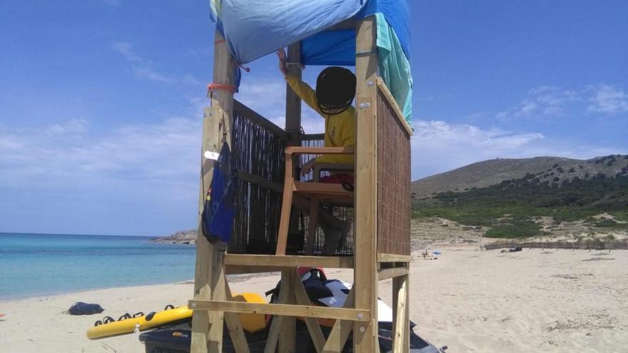 """""""Die Strandsicherheit in Cala Ratjada ist nicht gewährleistet"""""""