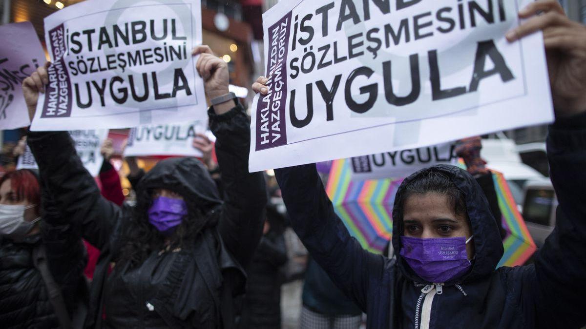 Seis mujeres asesinadas en Turquía tras la retirada de un tratado contra la violencia machista