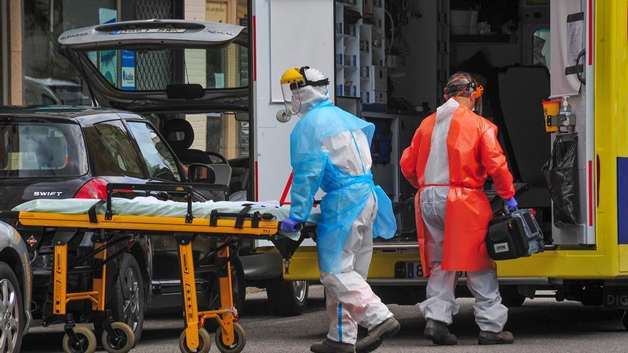 El COVID ya mató más en 20 días de enero que en todo diciembre en Galicia