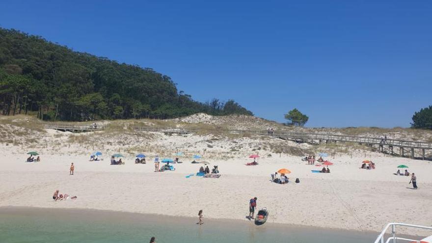 """Música y playa en el primer fin de semana """"veraniego"""""""