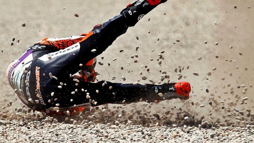 Fabio Quartararo entrega la victoria a Miguel Oliveira