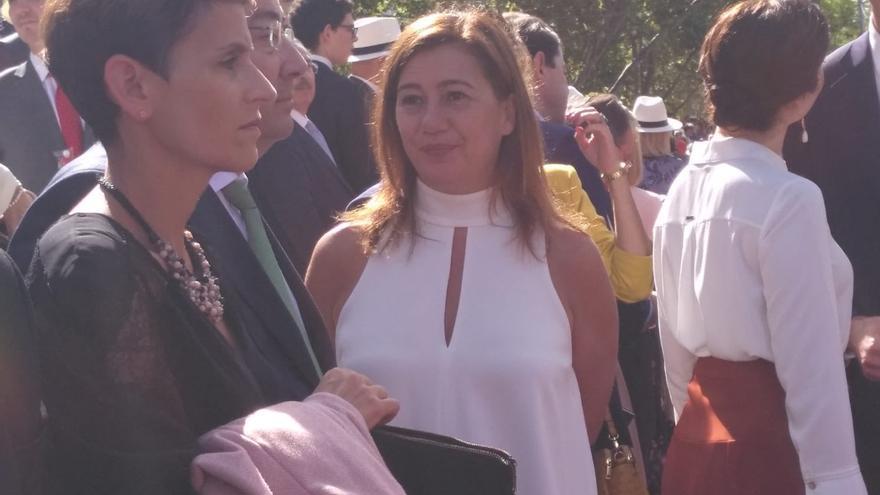 Armengol no irá a Madrid por el Día de la Hispanidad