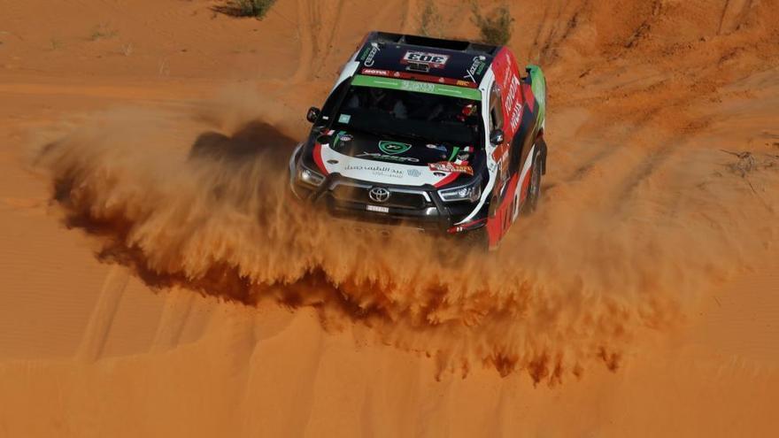 Sainz se desquita y Barreda hace historia en el Dakar