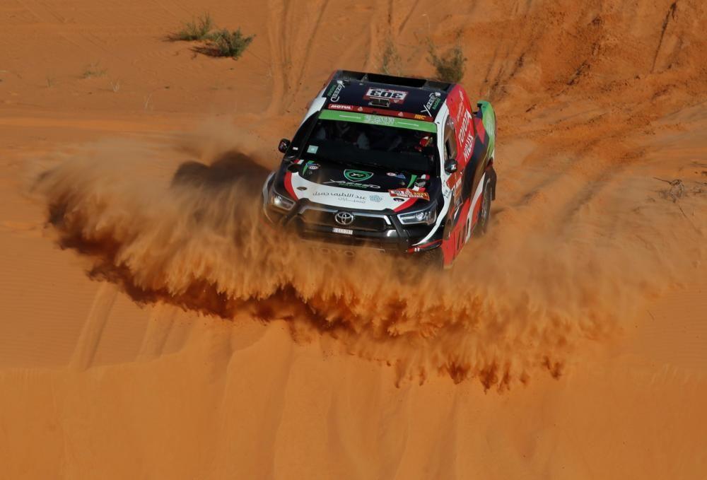 Rally Dakar 2021: 6ª etapa: Al Qaisumah - Ha'il