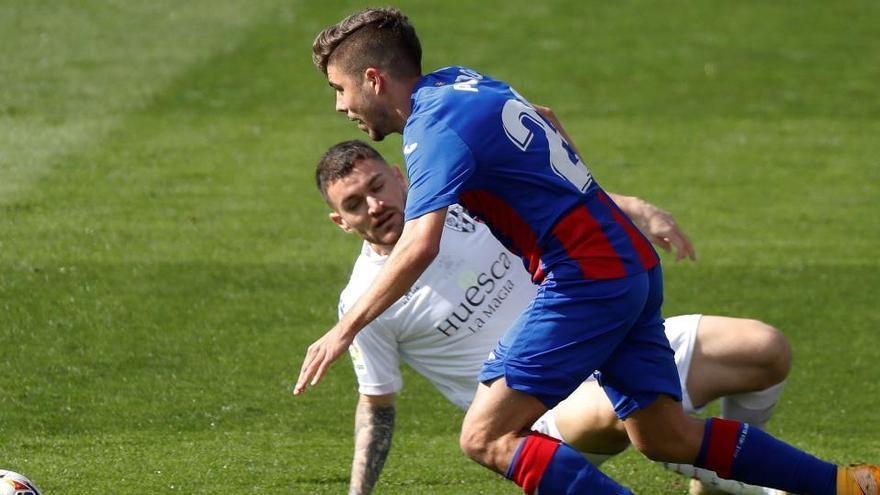 Un empate insuficiente entre Eibar y Huesca