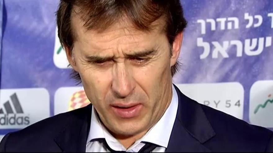 """Lopetegui: """"Hemos vencido sin hacer un gran partido"""""""