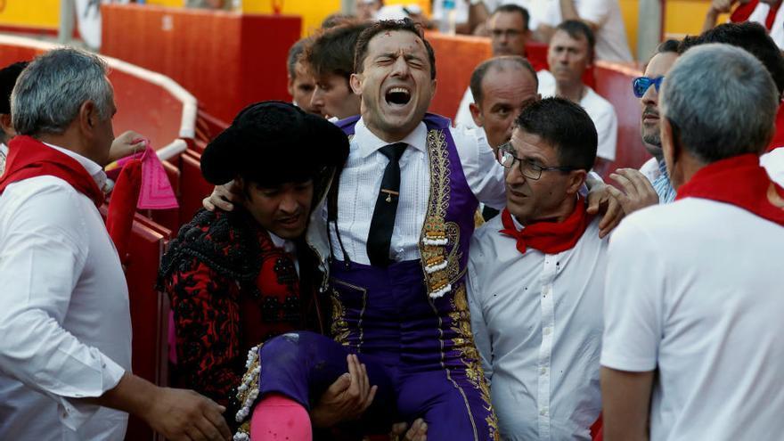 Rafelillo recibe el alta tras la brutal cogida en San Fermín
